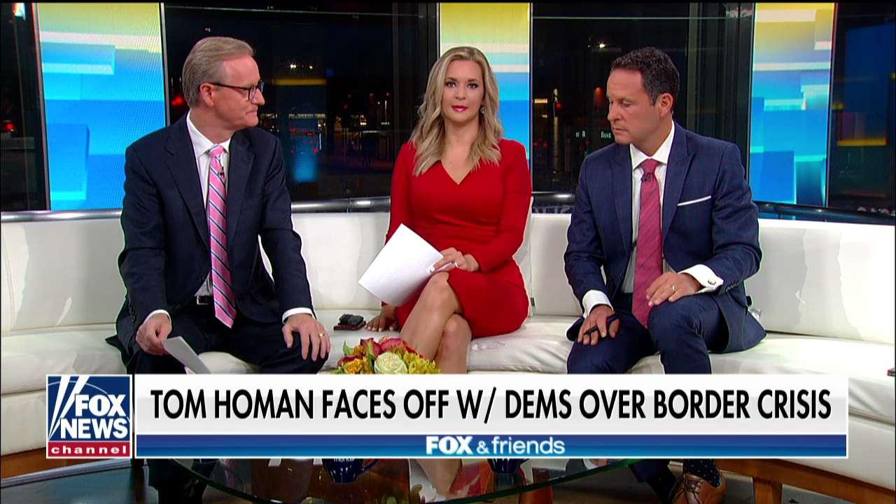 Tom Homan's fiery clash with AOC, Tlaib and other House Dems detailed on 'Fox & Friends'