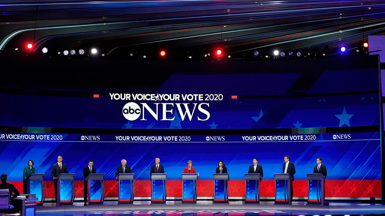 2020 Democratic presidential candidates clash on debate stage in Houston