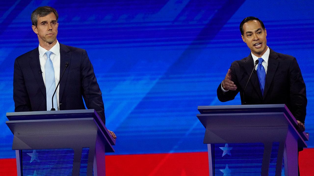2020 Democratic candidates take aim at President Trump in round three of debates