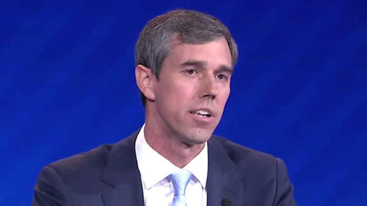 Beto O'Rourke goes all-in on gun control at Democratic presidential debate