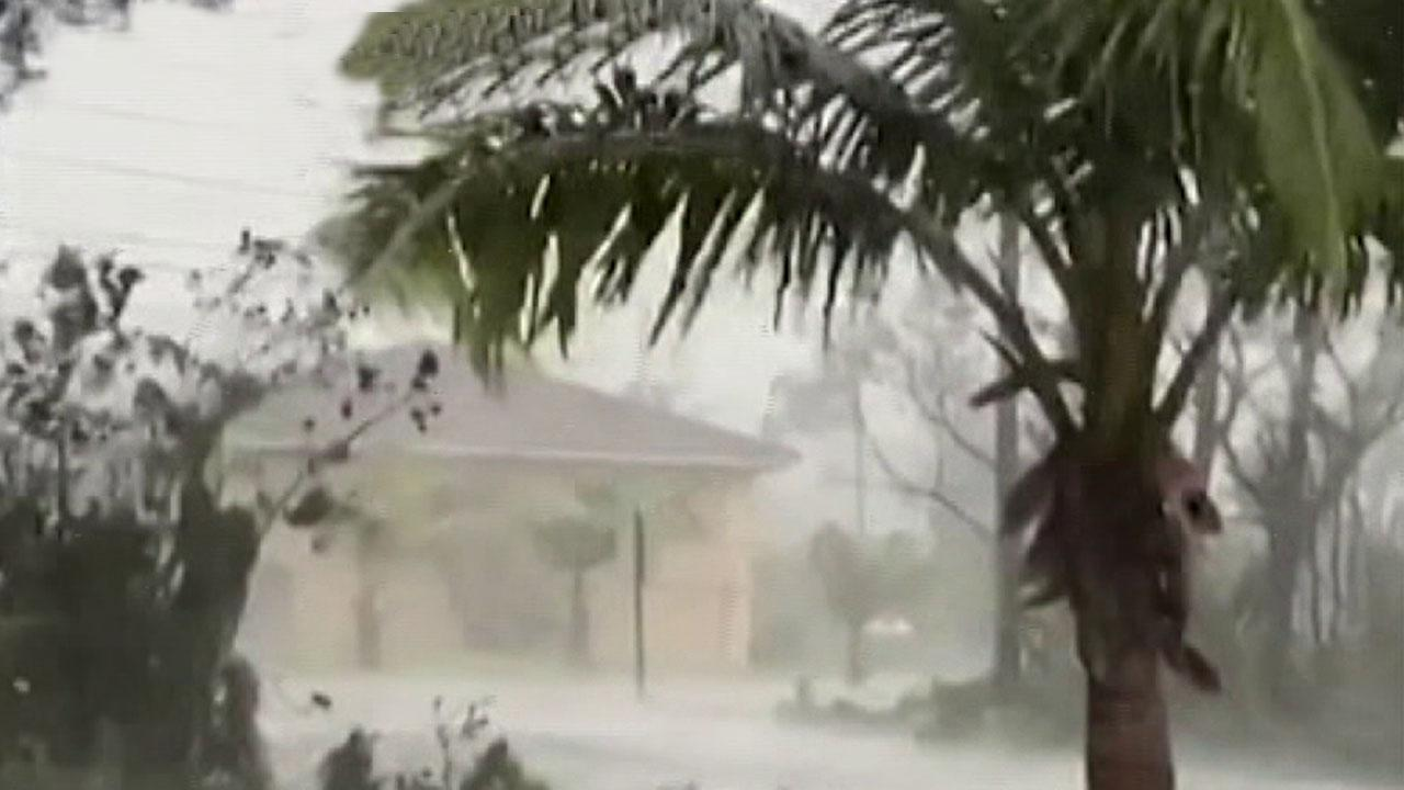 Sarah Valerio gives eyewitness account of Hurricane Dorian from the Bahamas