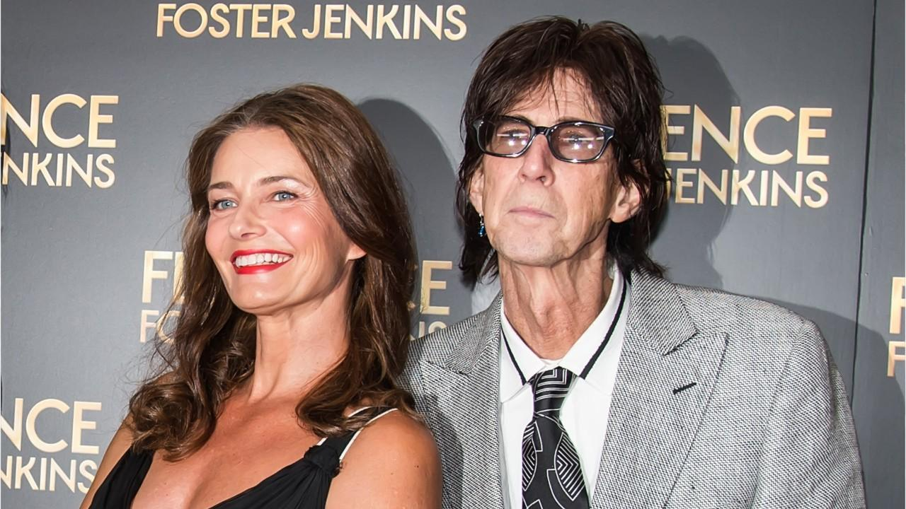 Ric Ocasek's widow shows gratitude for well-wishers following his death