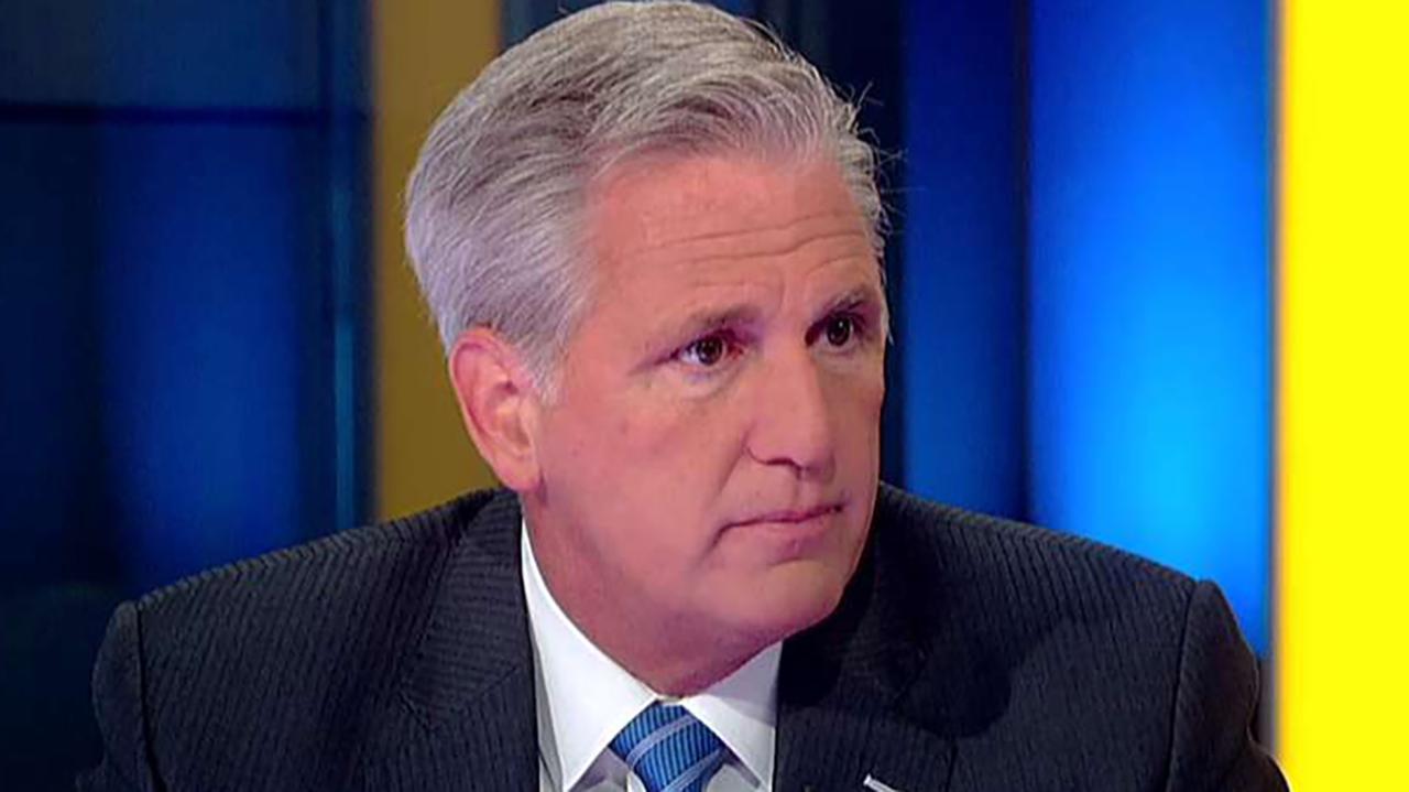 Rep. McCarthy: Nobody in America wants Democrats' 'imaginary impeachment'