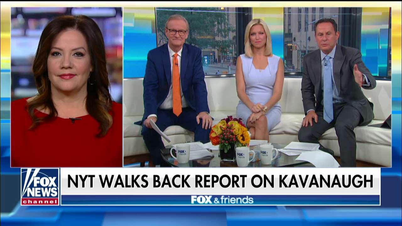 Mollie Hemingway accuses NYT of hiding facts and using 'gossip' to smear Kavanaugh