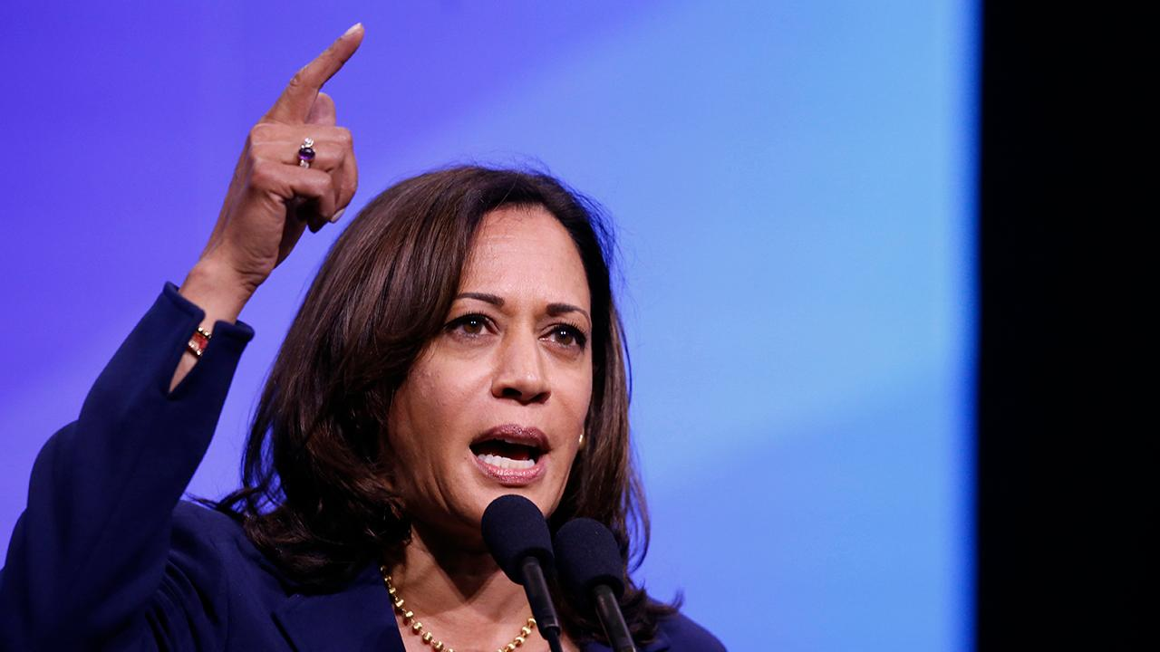 Kamala Harris jumps on the Kavanaugh impeachment bandwagon