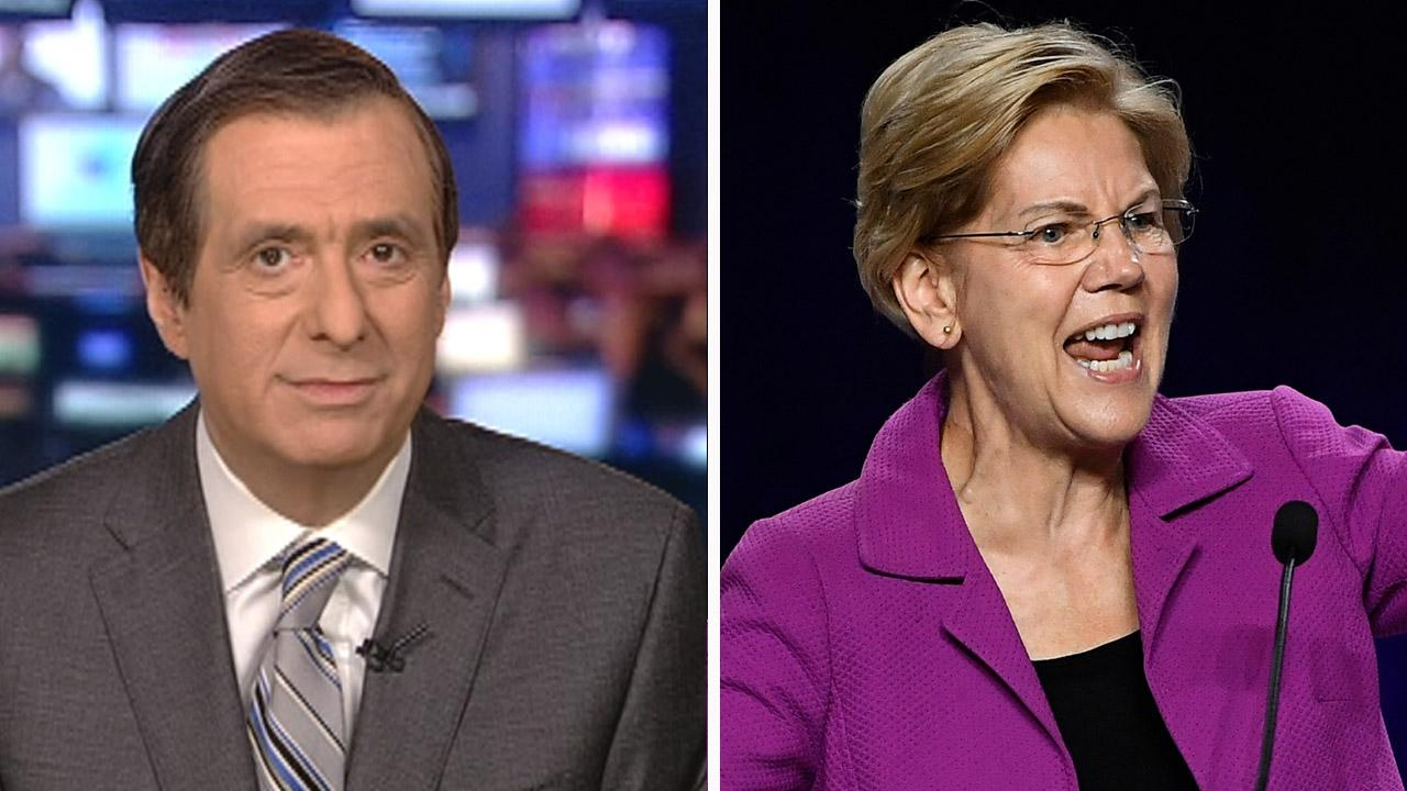 Size matters? Media praise Elizabeth Warren -- and her crowds