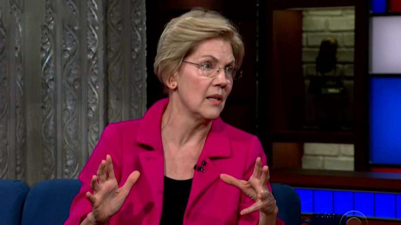 Colbert stumps Warren; Buttigieg and Trump see eye-to-eye