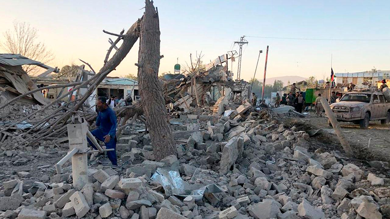 Taliban claims responsibility for fourth suicide bombing in Afghanistan in one week