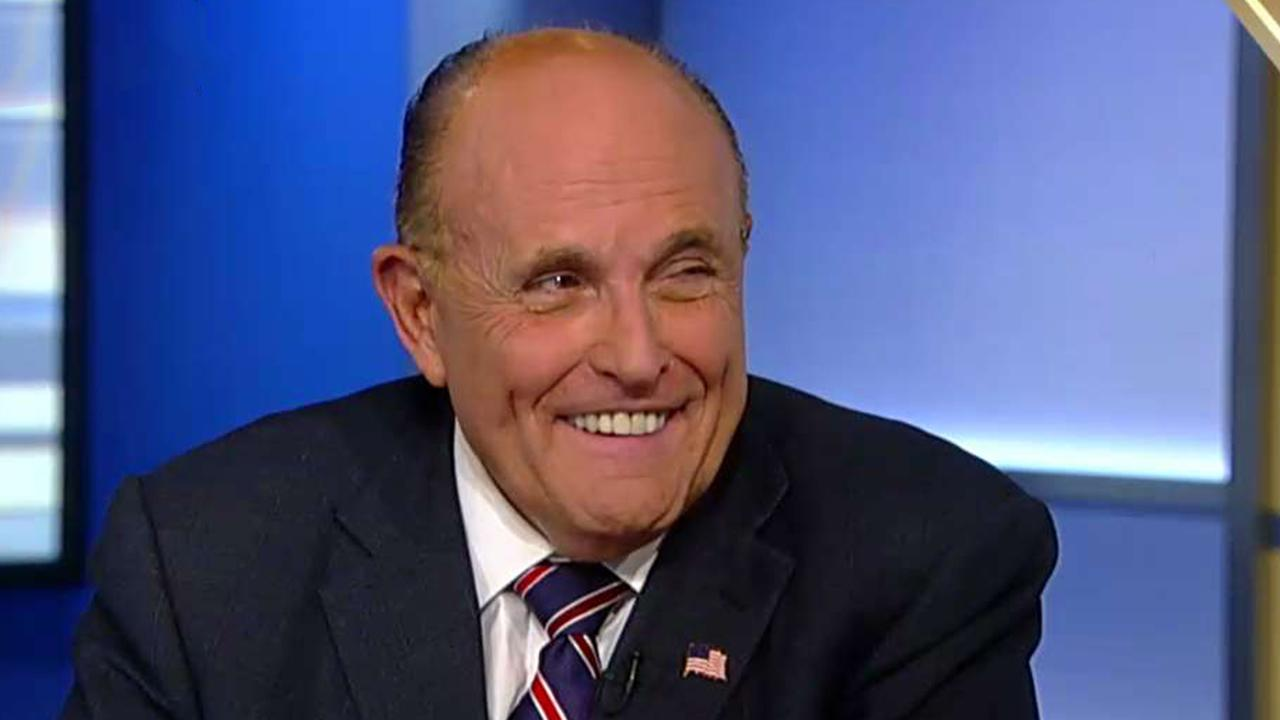 Rudy Giuliani reacts to Trump whistleblower complaint