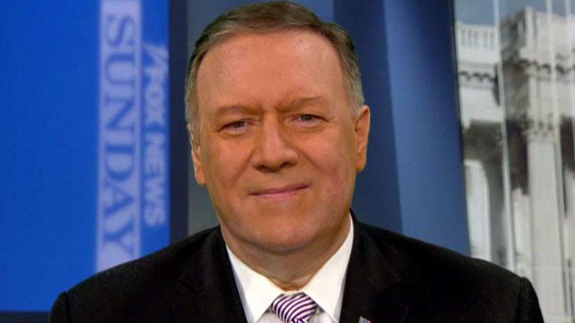 Secretary of State Mike Pompeo joins John Roberts on 'Fox News Sunday.'