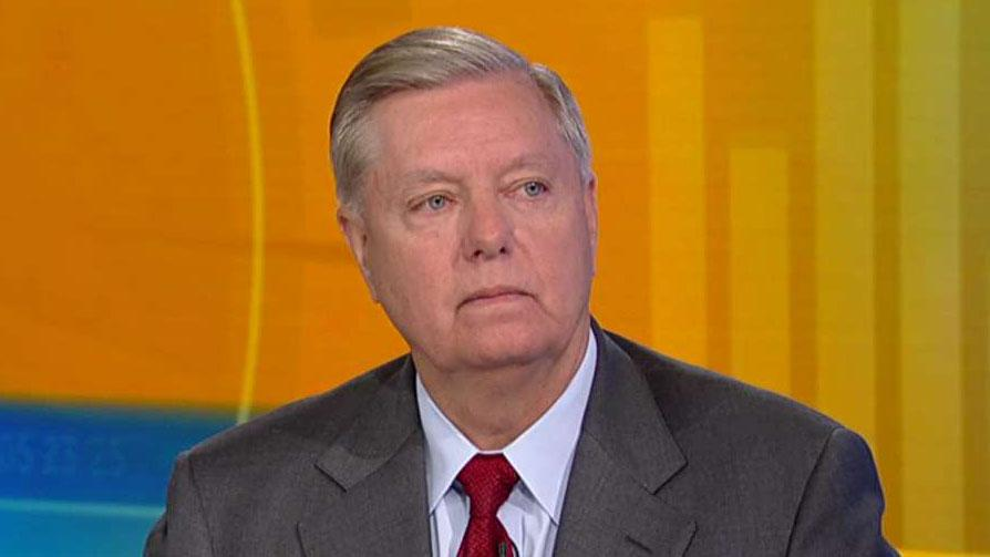 Sen. Lindsey Graham: No one has looked at the Ukraine and the Bidens