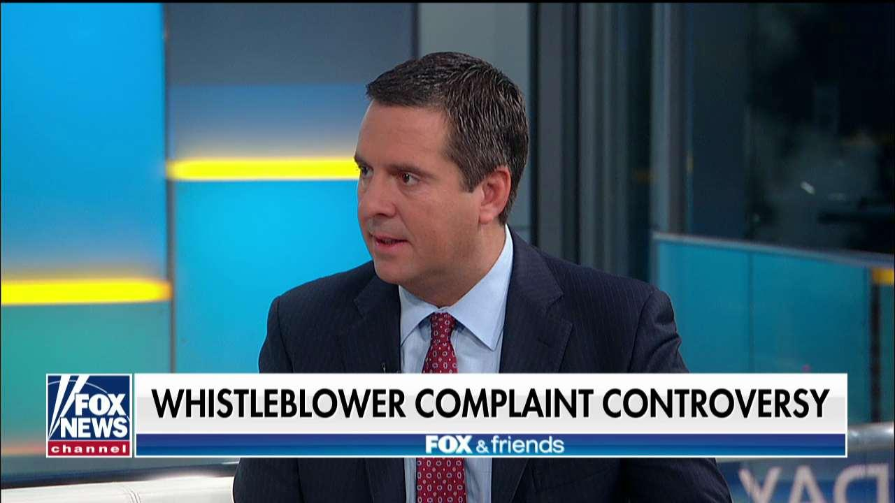 Devin Nunes on Ukraine whistleblower controversy: 'Doesn't it feel like Russia hoax all over again?'