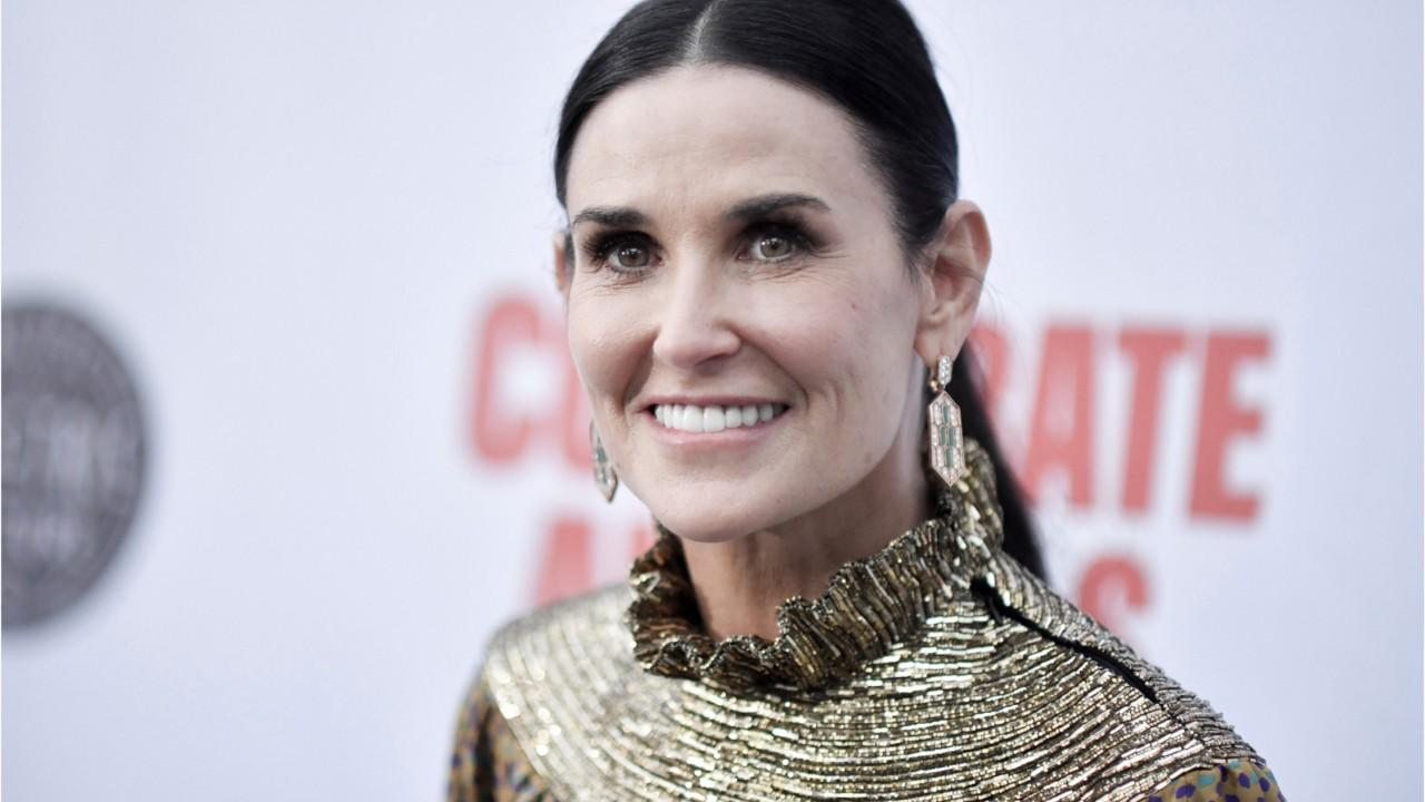 Demi Moore says she's 'so overwhelmed' that her memoir 'Inside Out' is a bestseller