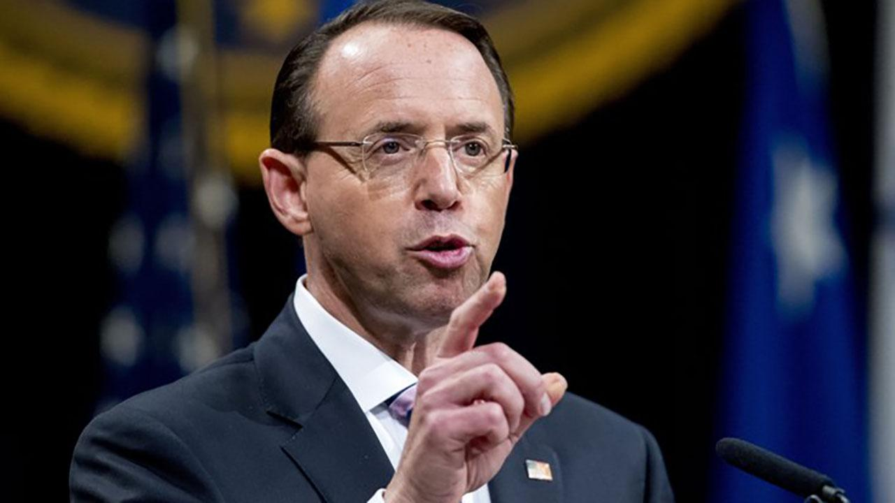 New memo shows Rosenstein proposed wearing a wire into the Oval Office