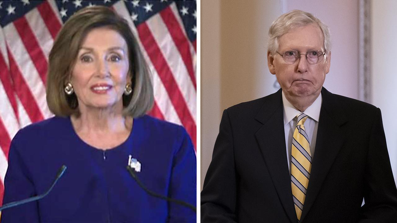 Republicans accuse Nancy Pelosi of giving in to far-left pressure by launching formal impeachment inquiry