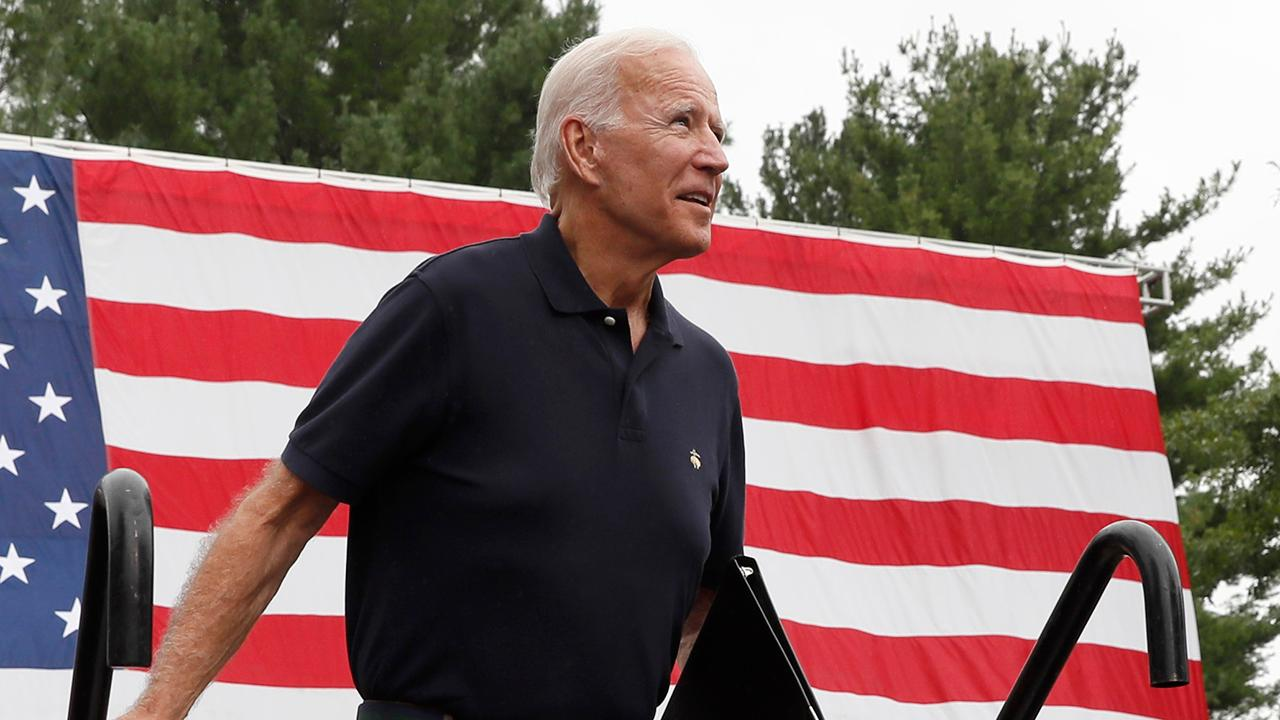Biden drops in the polls as Ukraine scandal ramps up