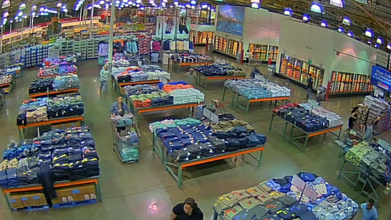 Raw Video: Costco shooting in California caught on camera