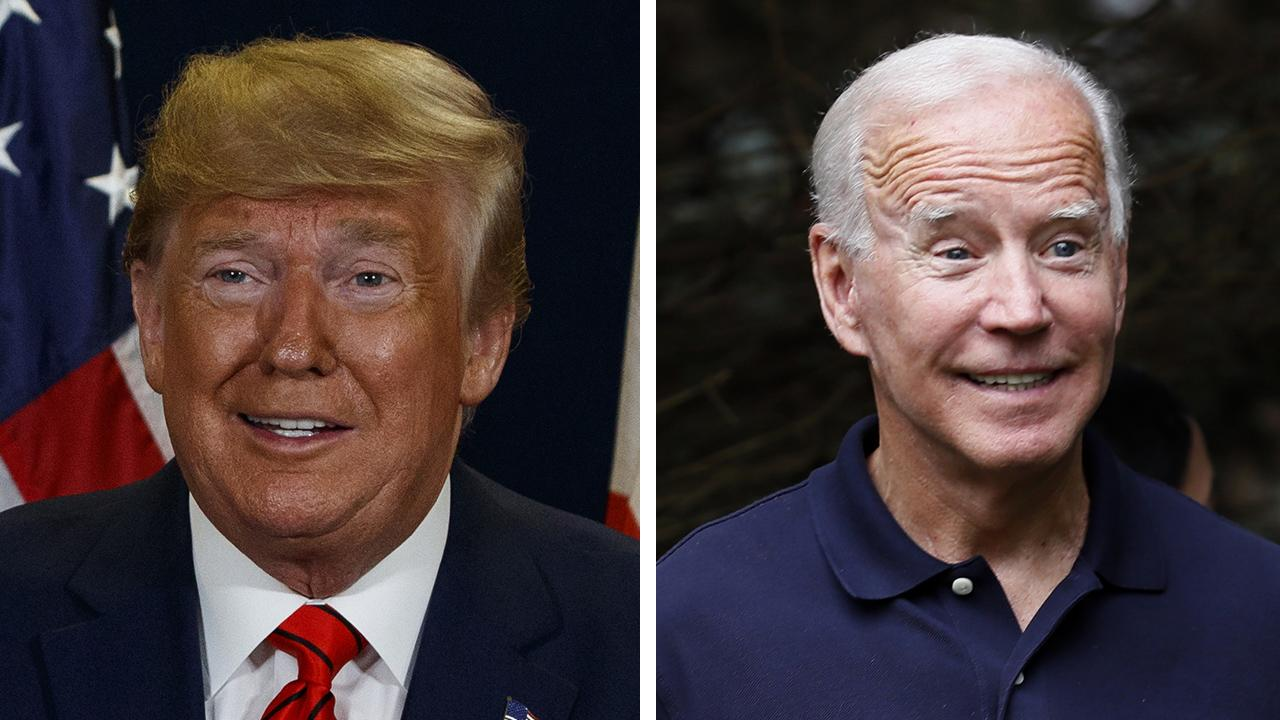 President Trump challenges Joe Biden over Ukraine connection