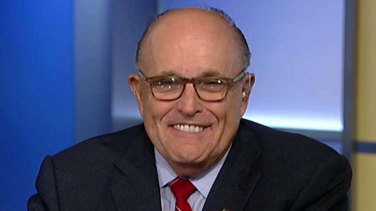Rudy Giuliani denies whistleblower accusations against him