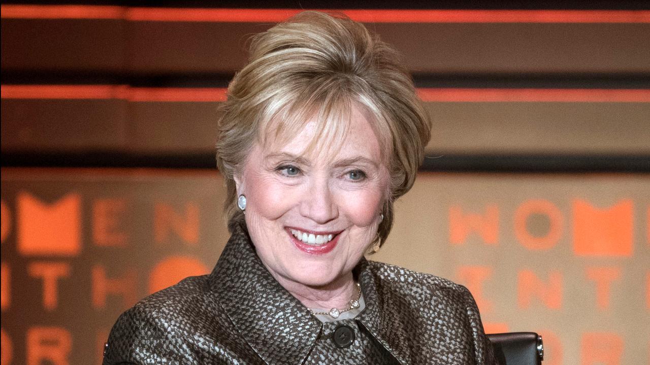 Hillary Clinton claims Trump is an 'illegitimate president'