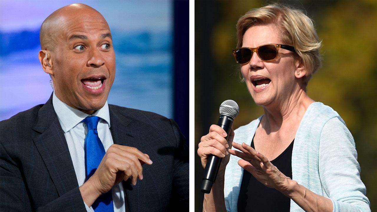 Democratic presidential candidates strike contrasting tones on impeachment