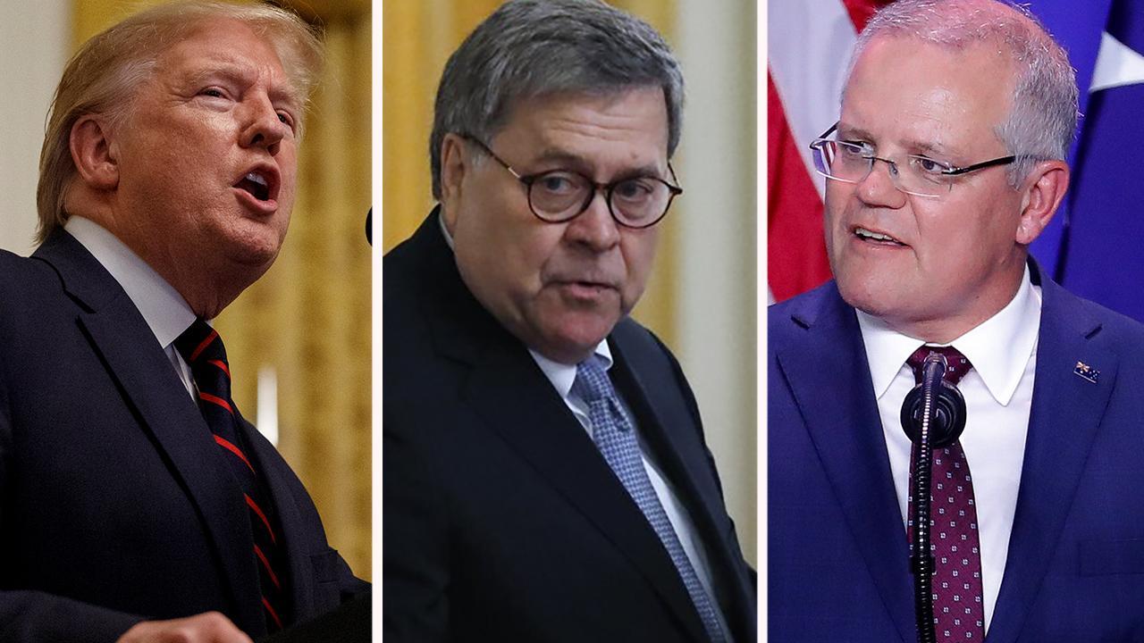 NYT: Trump 'pressed' Australia to help Attorney General William Barr