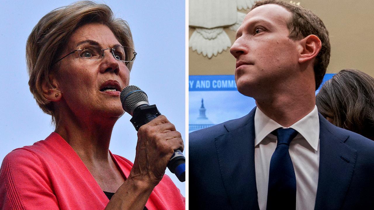 Facebook CEO threatens lawsuit if Elizabeth Warren wins a presidency