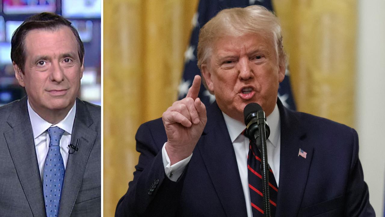 Westlake Legal Group 694940094001_6091420520001_6091414510001-vs Impeachment intensity: Trump decries 'coup' and 'corrupt media' Howard Kurtz fox-news/politics fox-news/columns/media-buzz fox news fnc/media fnc article 7e02e81a-0834-5f67-b28d-9bf51542a8a1