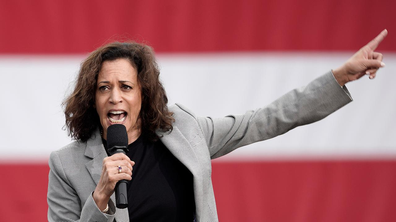 Kamala Harris doubles down on call to censor President Trump's tweets