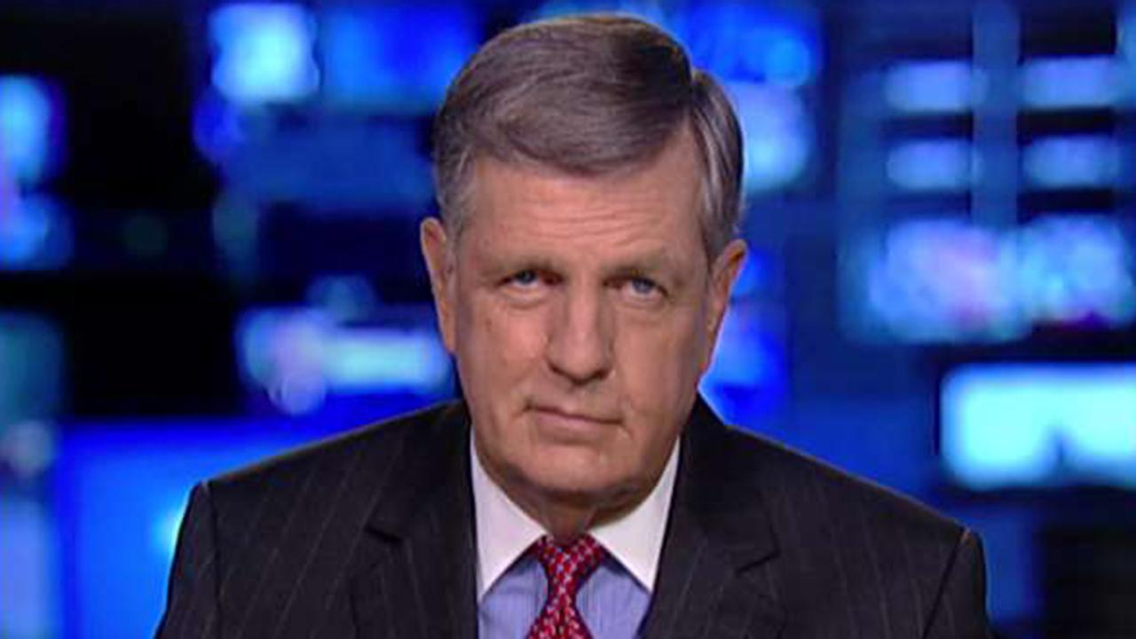 Westlake Legal Group 694940094001_6091467387001_6091466013001-vs Brit Hume: Trump did himself no favors by 'freaking out' after reporter's 'valid' question Victor Garcia fox-news/world/conflicts/ukraine fox-news/shows/the-story fox-news/politics/trump-impeachment-inquiry fox-news/person/joe-biden fox-news/person/donald-trump fox-news/media/fox-news-flash fox-news/media fox news fnc/media fnc dc1da06f-cc9c-5e8e-8b77-410d3b318690 article