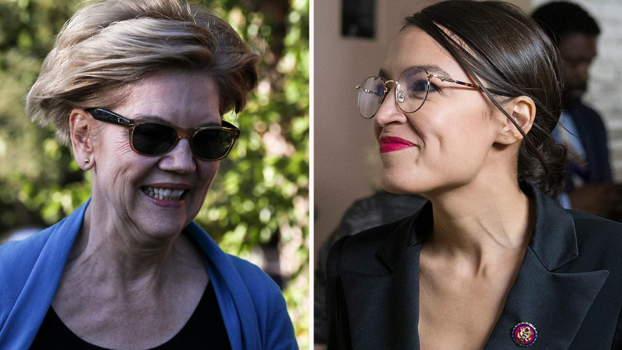 Warren backs Ocasio-Cortez's plan to give illegal immigrants and ex-cons welfare benefits