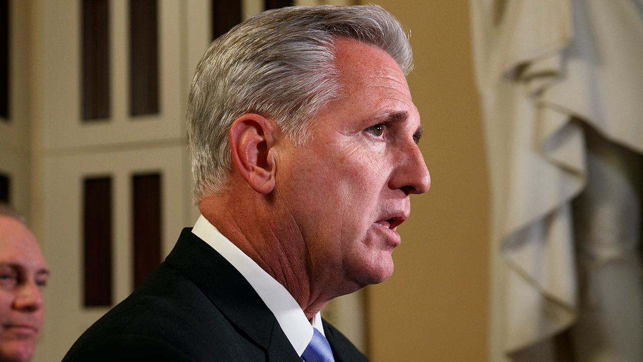 McCarthy calls on Pelosi to suspend Trump impeachment inquiry