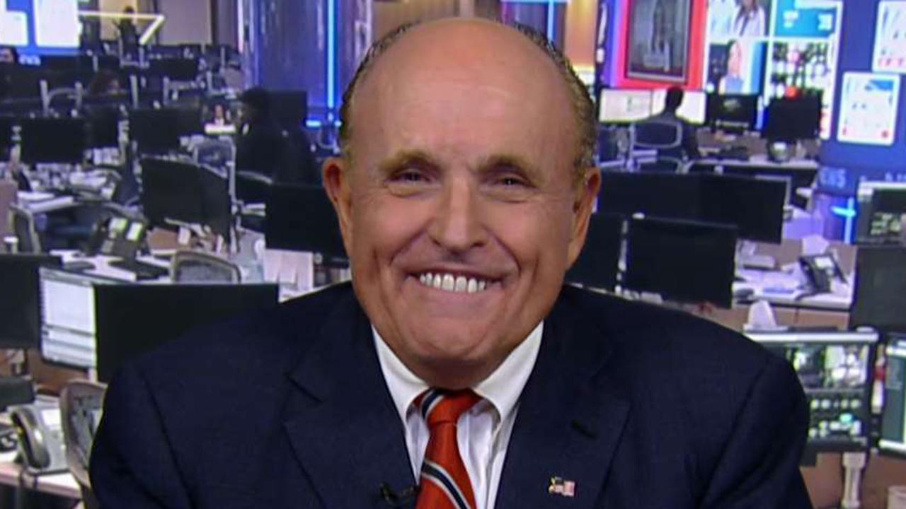 Giuliani: All the money is going to the Bidens