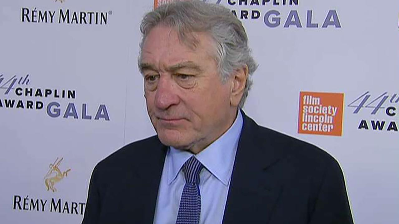 Robert De Niro says Trump 'wouldn't last long' as a gangster