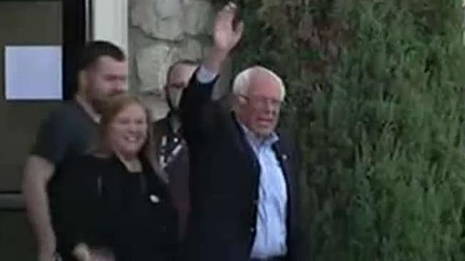 Bernie Sanders released from hospital after suffering a heart attack