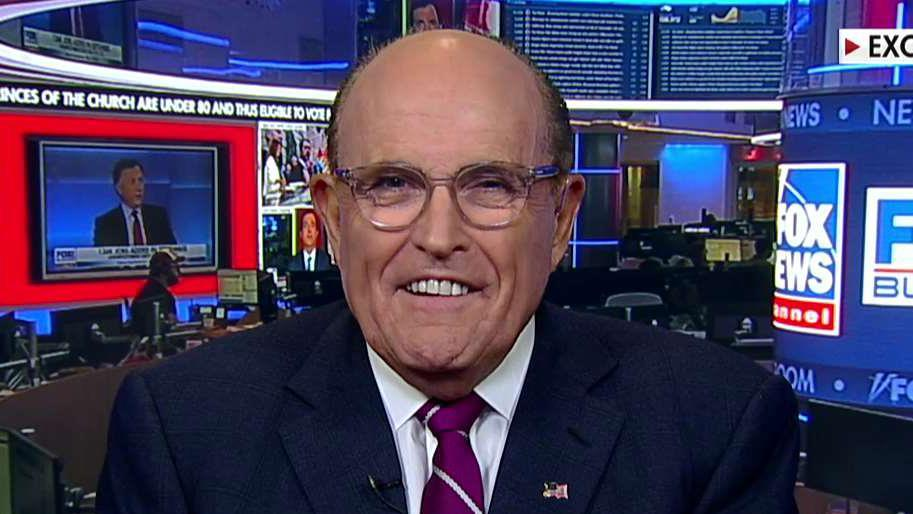 Giuliani rips impeachment coverage