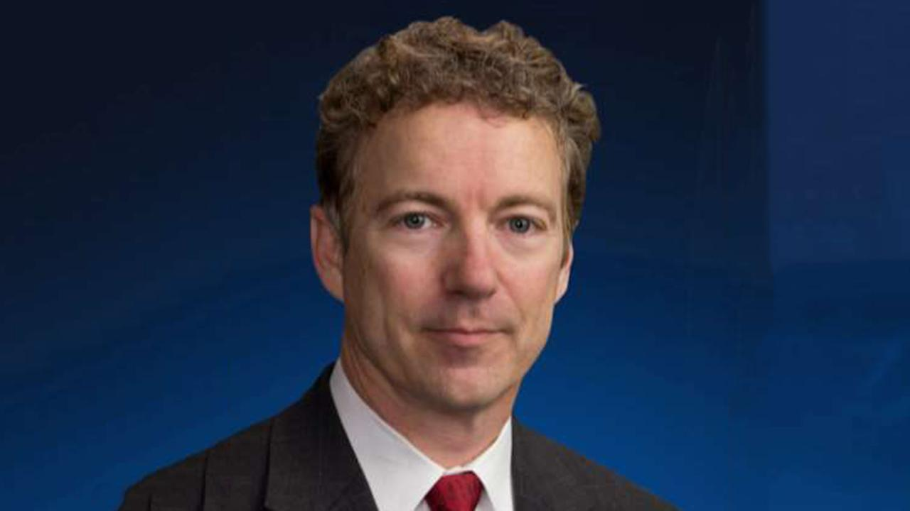 Sen. Rand Paul: If socialists can't find a crisis, they'll create one