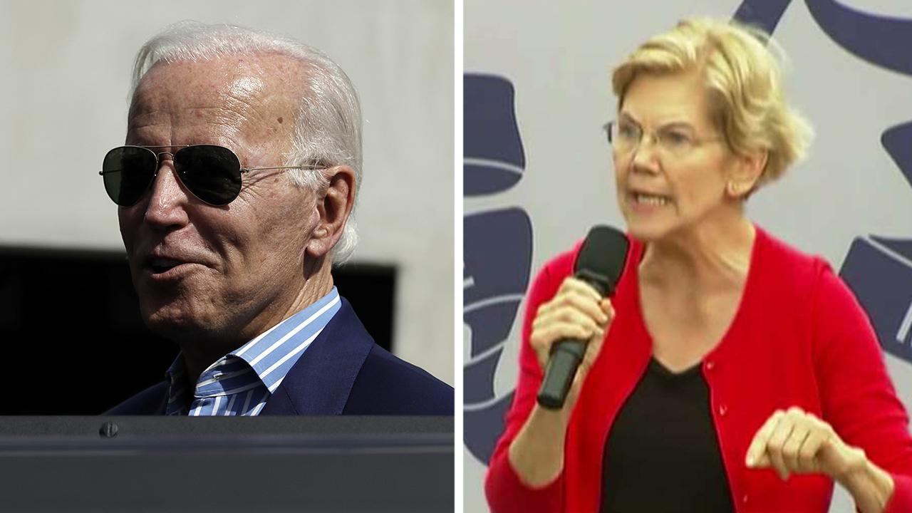 Joe Biden jabs at 2020 rival Elizabeth Warren: We're not electing a planner