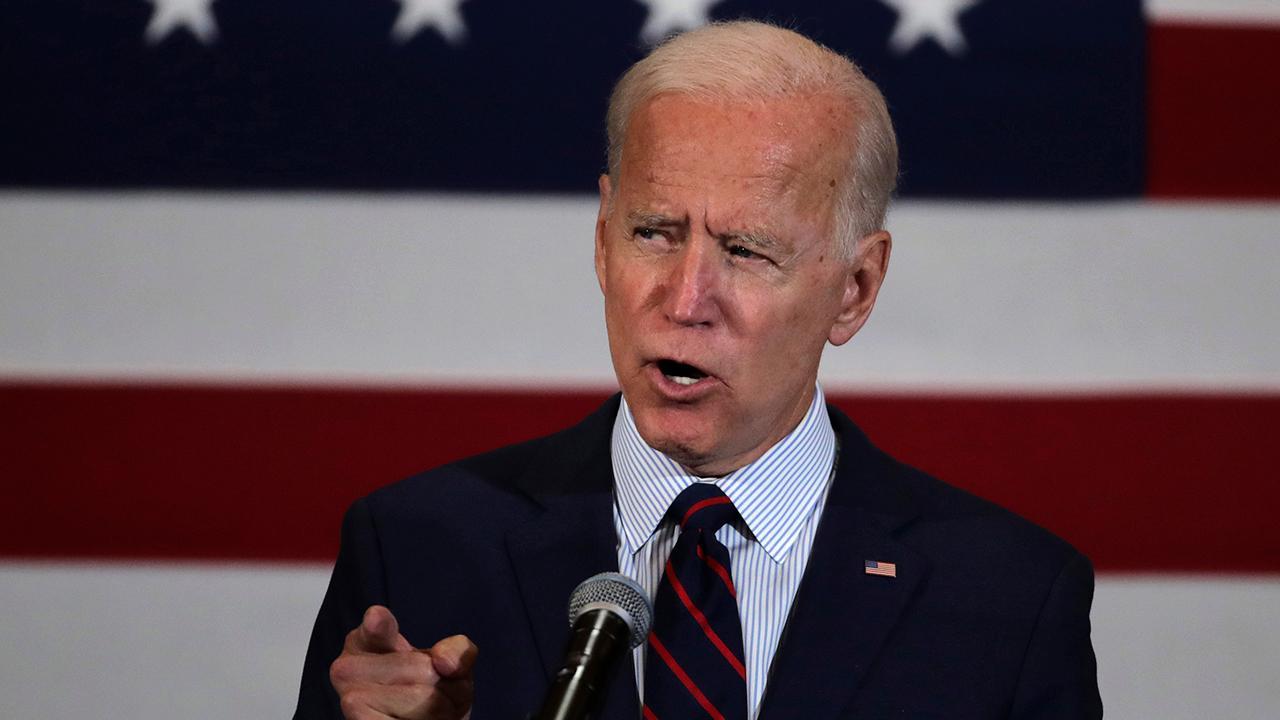 Fox News poll shows Joe Biden leading ahead of Elizabeth Warren