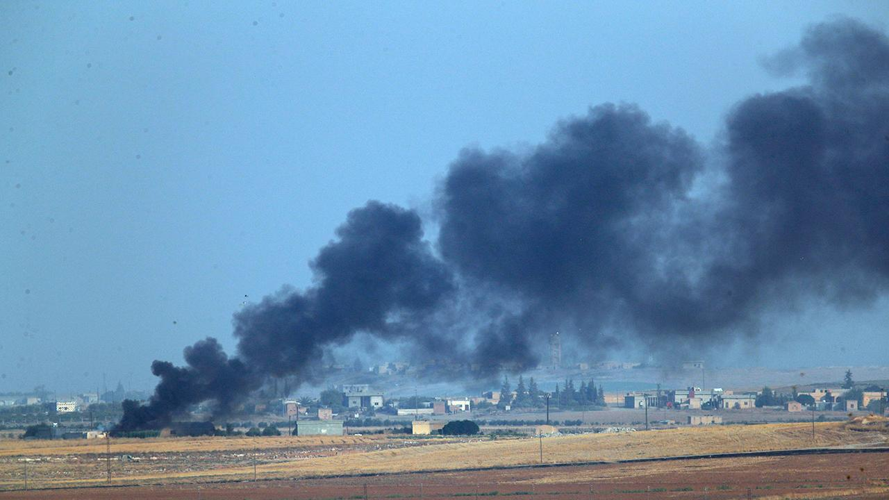 Chaos on the ground as Turkey assaults Syria with airstrikes and artillery