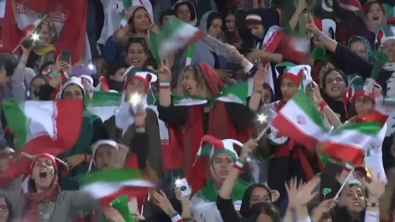 Iranian women allowed to attend international soccer match