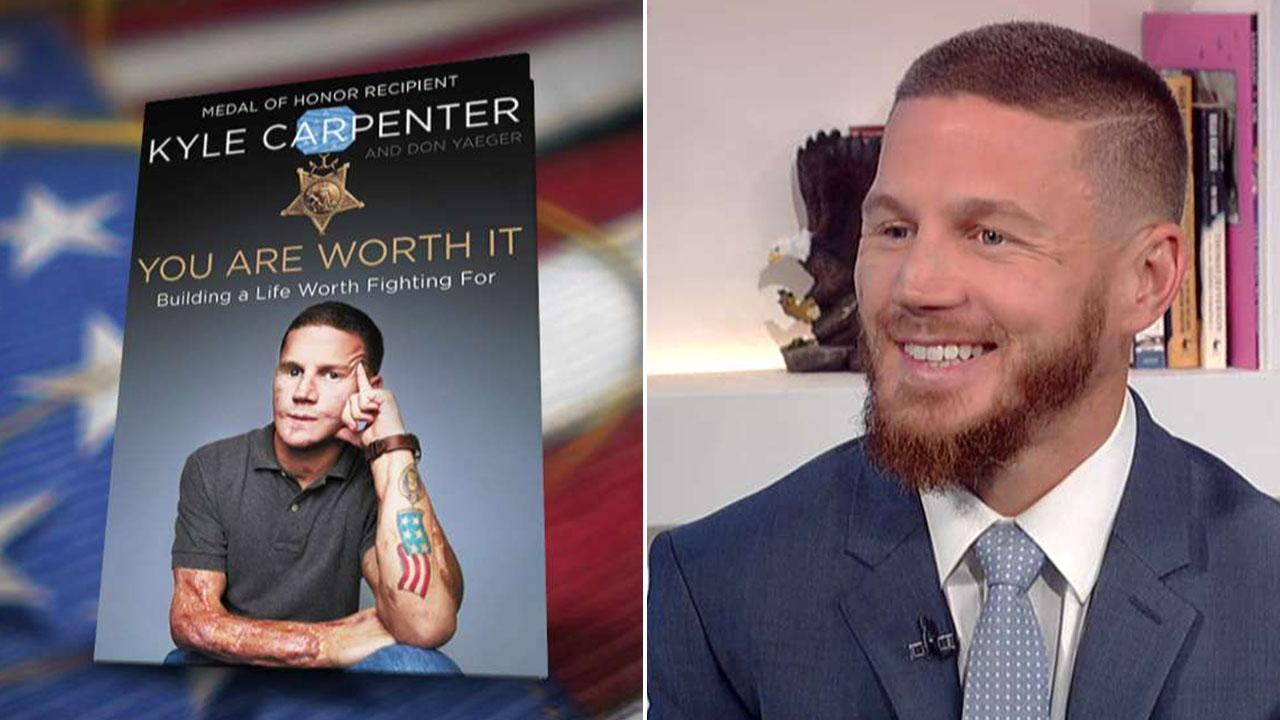 Medal of Honor recipient Kyle Carpenter shares incredible story in new memoir