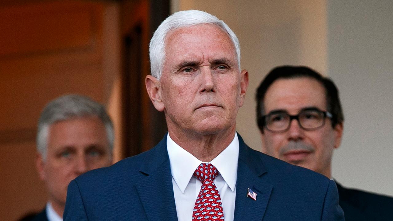 VP Pence to travel to Turkey for cease fire negotiations