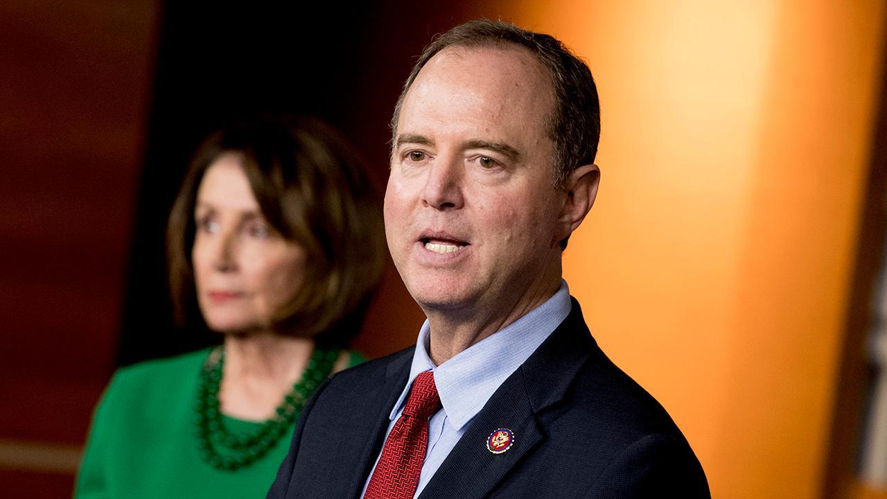 Reporter ' s Notebook: Mit Schiff, Pelosi Aktionen sprechen lauter als Worte