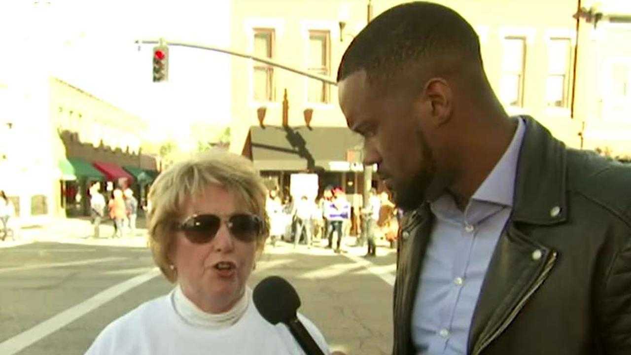 Lawrence Jones asks Ohio voters about Hunter Biden scandal