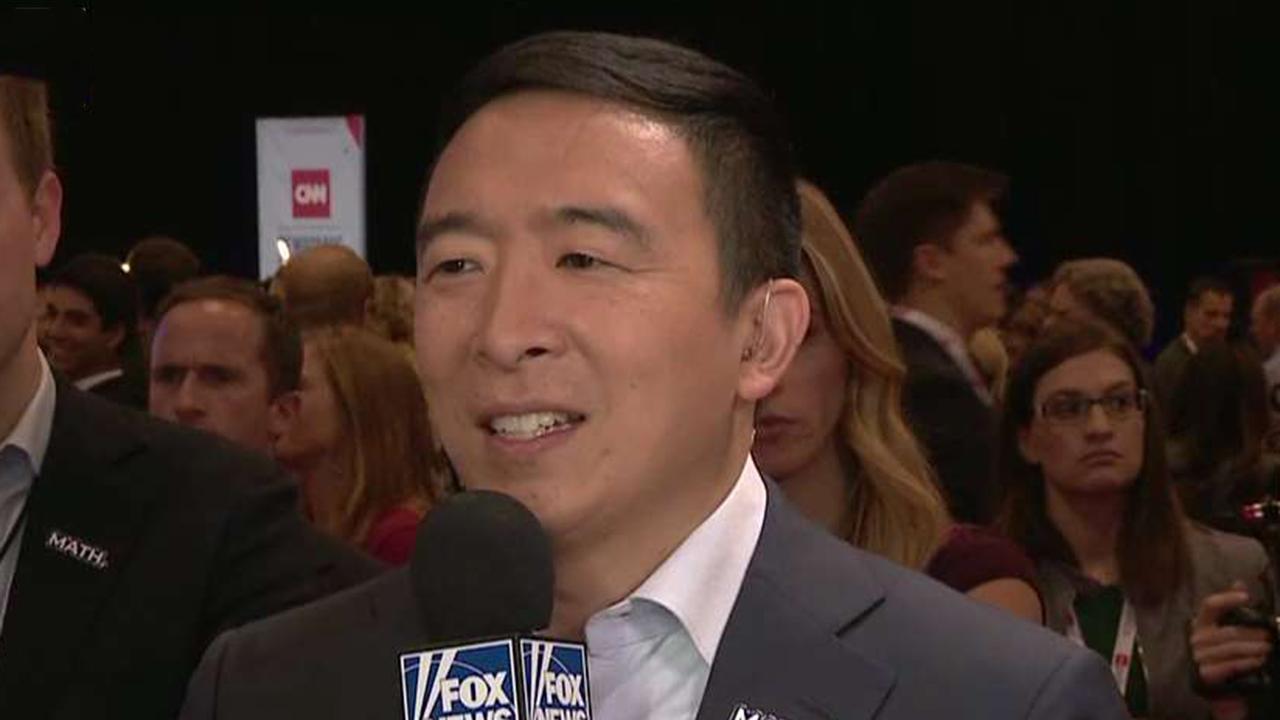 Westlake Legal Group 694940094001_6095150483001_6095151358001-vs Andrew Yang qualifies for next debate after release of new poll Paul Steinhauser fox-news/politics/elections/polls fox-news/politics/elections fox-news/politics/2020-presidential-election fox-news/politics fox-news/person/tulsi-gabbard fox-news/person/pete-buttigieg fox-news/person/joe-biden fox-news/person/elizabeth-warren fox-news/person/bernie-sanders fox-news/person/andrew-yang fox news fnc/politics fnc cbc078ac-ecde-5e45-9349-2fe34d71244c article