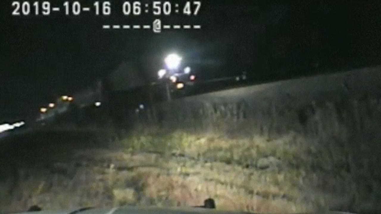 Utah trooper hailed as a hero after saving driver from oncoming train