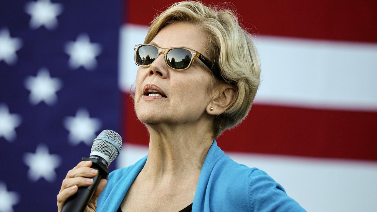 Democratic rivals pile on Elizabeth Warren at presidential debate