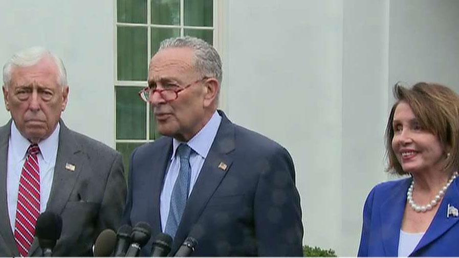 Top Democrats walk out of White House meeting on Syria