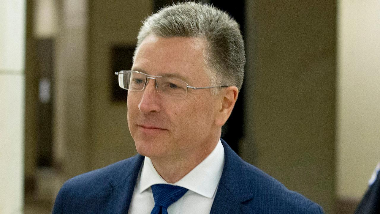 Kurt Volker returns to Capitol Hill to review impeachment interview transcript